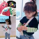女童秋裝新款兒童寶寶洋氣T恤 幼兒園假兩件韓版打底長袖t