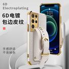 鳄魚紋Galaxy S21 Ultra手機套 三星電鍍note20手機殼 三星S20/S10 Plus保護殼 SamSung Note10保護套