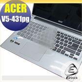 【EZstick】ACER Aspire V5-431PG (觸控機款) 系列 專用奈米銀抗菌TPU鍵盤保護膜