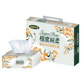Superpure極度純柔抽取式花紋衛生紙100抽112包/箱