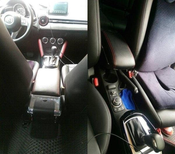 【車王小舖】馬自達Mazda16款 馬2中央扶手 馬2扶手 馬2扶手箱 馬自達2中央扶手時尚款升級版7孔USB