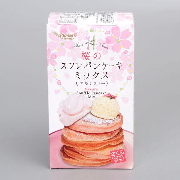 舒芙蕾 鬆餅粉-櫻花風味 254g