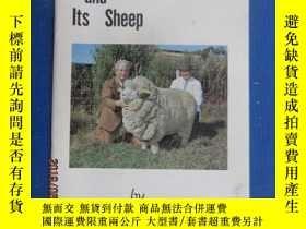 二手書博民逛書店英文書罕見New Zealand and Its Sheep 共