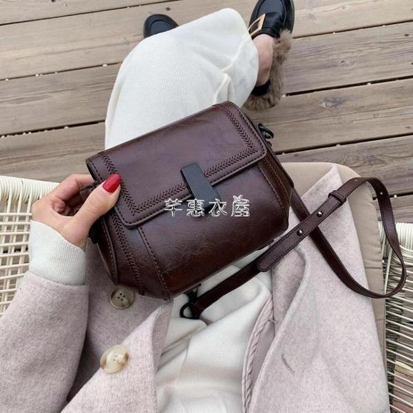 迷你小包包女包2021新款復古時尚百搭潮單肩斜挎鍊條包女 快速出貨