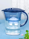 家用凈水壺直飲凈水器除菌去垢便攜廚房自來水過濾水壺過濾芯2.5L 果果輕時尚