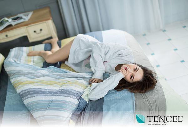 快速出貨【LORIA洛莉亞】超便宜平價天絲TENCEL天絲四件式床包組~標準雙人【非凡】