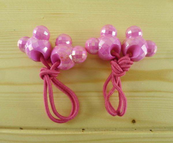 【震撼精品百貨】Micky Mouse_米奇/米妮 ~造型髮束-桃小頭