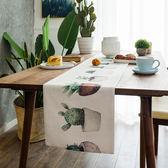 時尚可愛空間餐桌布 茶几布 隔熱墊 鍋墊 杯墊 餐桌巾桌旗 432 (30*160cm)