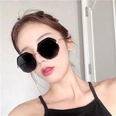 墨鏡女新款多邊形大框韓版潮復古原宿風圓臉顯瘦太陽眼鏡街拍