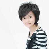 假髮(短髮)-時尚中老年個性斜瀏海女假髮73em75【時尚巴黎】