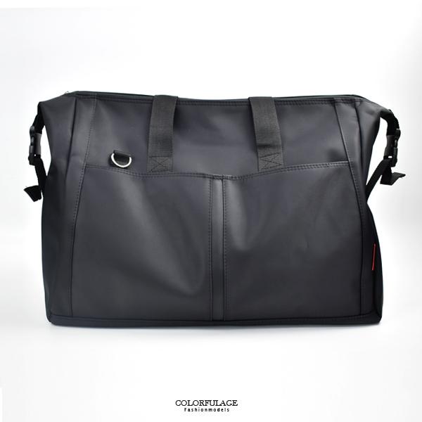 旅行袋 簡約素色大容量行李袋NZB31