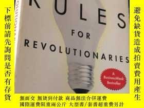 二手書博民逛書店RULES罕見FOR REVOLUTIONARIES (平裝)Y24878 GUY KAWASAKI Harp