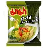 【美佐子MISAKO】南洋食材系列-MAMA 泰國雞肉綠咖哩風味麵 55g
