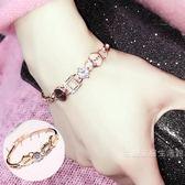 love愛情的結晶歐美日韓製甜美簡約飾品首飾學生手 手飾手鐲女  雙12購物節