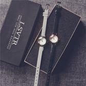 韓版復古小錶盤文藝簡約女錶細皮帶小清新百搭學生手錶潮ulzzang     米娜小鋪