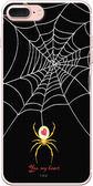 設計師版權【謎網 YES MY HEART(黑)】系列:TPU手機保護殼(iPhone、ASUS、LG、小米)