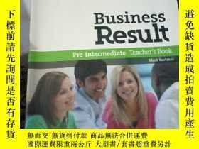 二手書博民逛書店Business罕見Result: Pre-Intermedia