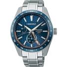 SEIKO精工 Presage 新銳系列 Aitetsu靛藍 GMT機械腕錶 SPB217J1(6R64-00C0B)