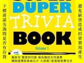 二手書博民逛書店The罕見Super Duper Trivia Book Volume 1Y410016 Lou Harry
