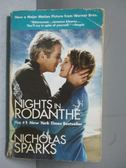 ~書寶 書T4 /原文小說_JRZ ~Nights in Rodanthe_SPARKS