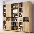 【森可家居】諾拉系統式7尺組合書櫃 7H...