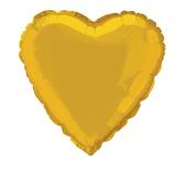 18吋愛心鋁箔氣球(不含氣)-璀璨金
