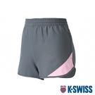 K-SWISS Woven Shorts 1運動短褲-女-灰