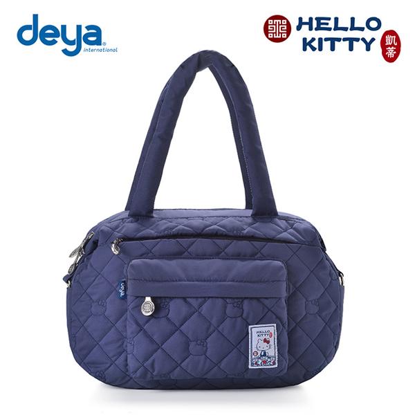 deya Hello Kitty x 故宮 氧氣旅行袋-藍