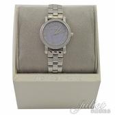 茱麗葉精品 全新精品 MICHAEL KORS MK3848 水晶鑽框 不鏽鋼 腕錶.薰衣草紫