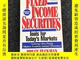 二手書博民逛書店FIXED罕見INCOME SECURITIES(固定收益證券)英文原版Y236528 bruce tuckm