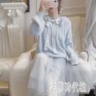 網紗洋裝秋季2019年新款女裝毛衣網紗兩件套仙女法式連衣裙長裙子時尚套裝YJ4319【宅男時代城】