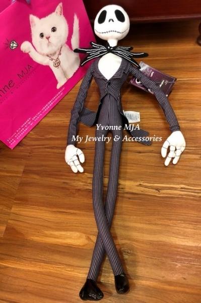Yvonne MJA美國迪士尼限定商品 正版 聖誕夜驚魂傑克娃娃