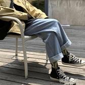 牛仔褲男春夏季潮牌休閒寬管褲韓版潮流百搭老爹褲寬鬆直筒長褲子