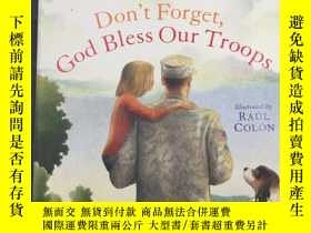 二手書博民逛書店Don t罕見Forget, God Bless Our Tro