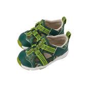 Combi 康貝 活力迷彩 幼兒機能涼鞋 (青草綠)
