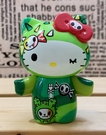 【震撼精品百貨】凱蒂貓_Hello Kitty~日本SANRIO三麗鷗 TKDK限量版擺飾-凱蒂貓綠#15291
