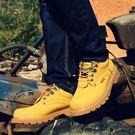 工裝鞋  馬丁鞋靴英倫潮鞋圓頭低筒工裝鞋男鞋休閒皮鞋皮質大頭鞋 雙12交換禮物