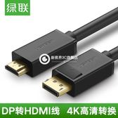 dp轉hdmi線 Displayport轉hdmi線大DP接口 to HDMI高清轉接線