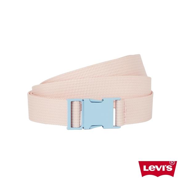 Levis 女款 皮帶 / 潮流釦環設計 / 復古馬卡龍色系