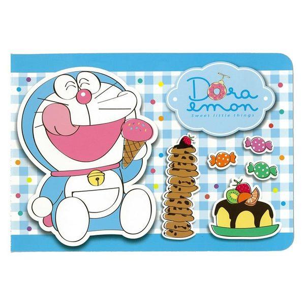 獨家港貨哆啦A夢小叮噹貼紙簿冰淇淋032080通販屋
