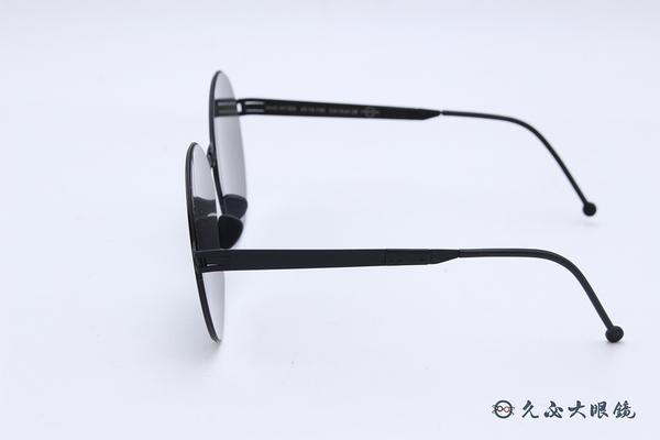 ROAV 偏光太陽眼鏡 Anne - Mod.NY003 ( 霧黑框/白水銀 ) 薄鋼折疊墨鏡