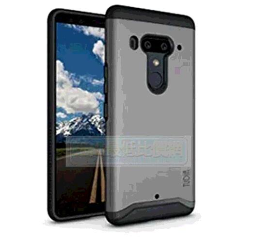 手機保護殼 HTC U12 Plus Case 灰/ U12+ Case, TUDIA [MERGE Series] Heavy Duty Extreme Protection