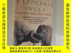 二手書博民逛書店When罕見elephants weep:the emotion