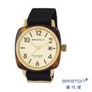 【官方旗艦店】BRISTON 手工方糖錶 折射光感 淡玫瑰金 時尚百搭 禮物首選