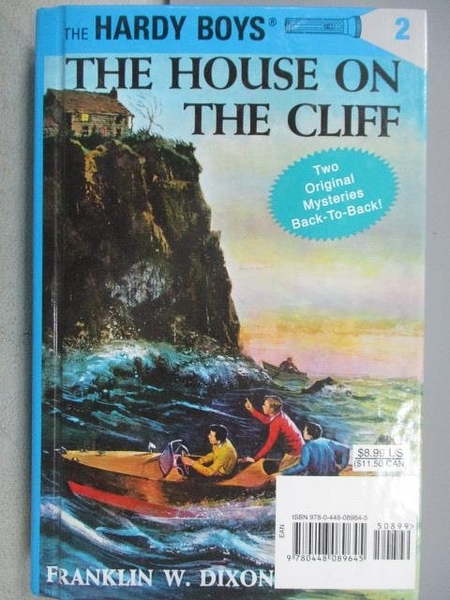 【書寶二手書T7/原文小說_CPZ】The House on The Cliff_Franklin W. Dixon