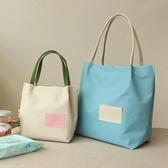 便當袋 便當包飯盒袋手提包午餐包帆布環保袋小飯盒包日式收納袋防水