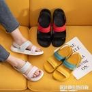 夏季拖鞋女家用時尚網紅ins涼鞋外穿兩用情侶涼拖鞋學生宿舍涼拖 設計師生活