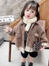 女童外套2020新款兒童韓版洋氣羊羔絨上衣女寶寶冬裝加厚童裝 【現貨快出】