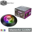 【免運費】CoolerMaster MasterAir G100M RGB CPU 散熱器 酷媽 MAM-G1CN-924PC