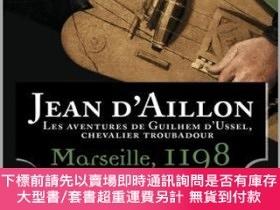 二手書博民逛書店Les罕見aventures de Guilhem d Ussel, chevalier troubadour V